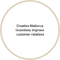 Creative Mallorca Incentives improve customer relations